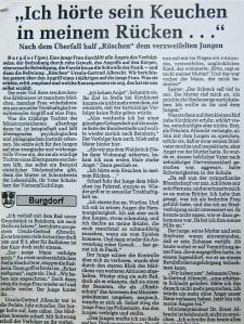 Ein Gerücht aus Burgdorf bei Hannover